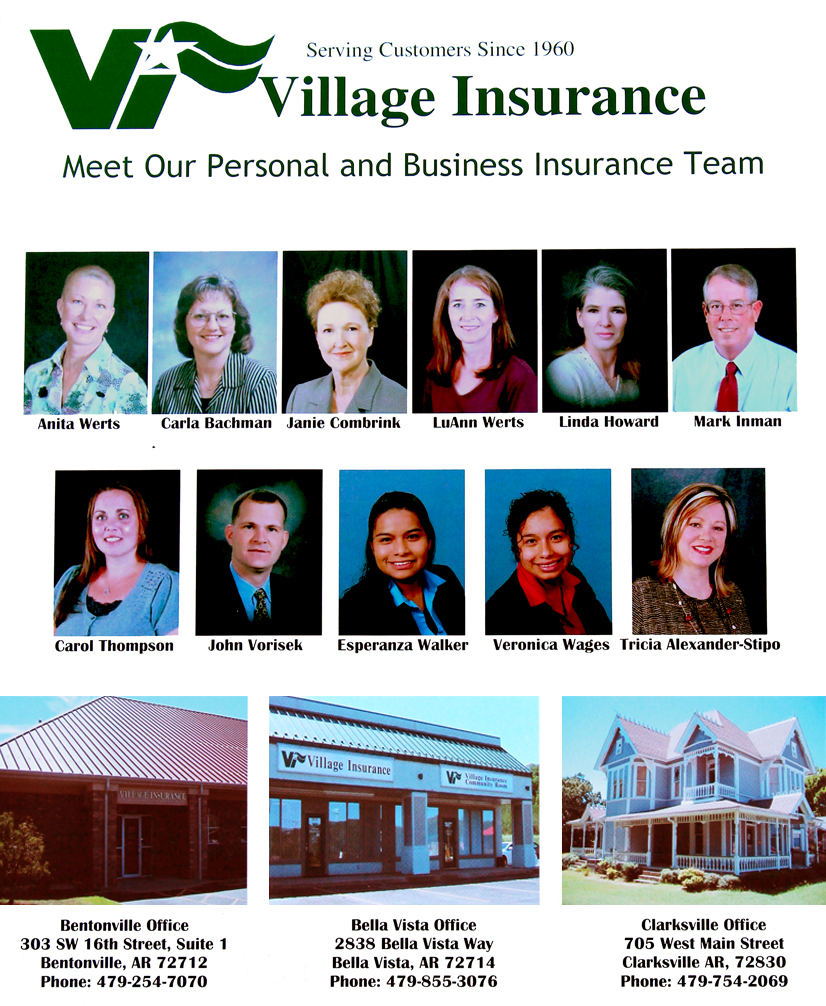 Bella Vista Village Insurance